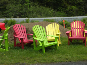 Hand-crafted Adirondack Chairs (End of Season Sale)