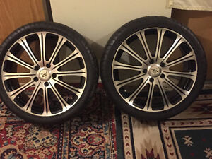 TIRE AND RIM FOR SALE
