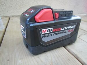 Milwaukee high demand 9.0 battery brand new