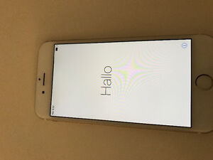 Gold IPhone 6 -- mint condition -- locked to telus
