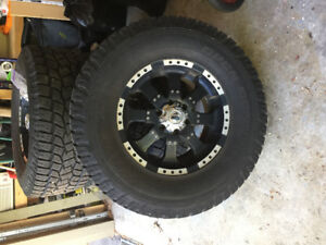 Truck Rims & Rubber