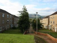 Spacious second floor, first floor and ground floor. Two bed flats available in quiet Cwmbach
