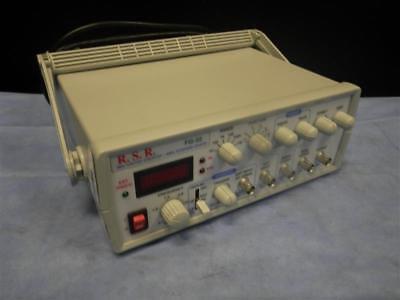 Rsr Fg-32 Sweep Function Generator 0.5hz 3mhz Bandwidth 3 Mhz - 7 Mhz