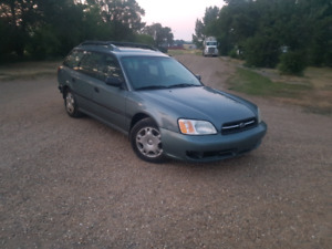 Subaru Legacy AWD/4x4, great for winter, good on fuel