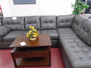 SECTIONAL WITH CHAISE $109.99/MONTH