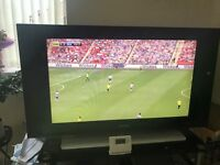 42 inch LCD TV Phillips with DVD player / recorder