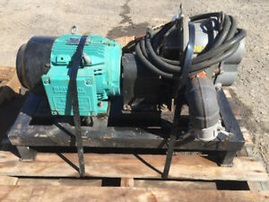 Blower Roots 33 U-RAI et Moteur 2 HP 600V