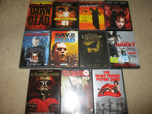 Horror/Halloween DVDS Kitchener / Waterloo Kitchener Area image 1