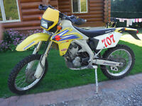 2006 RMZ 450 BLUE PLATED ENDURO - lots of upgrades