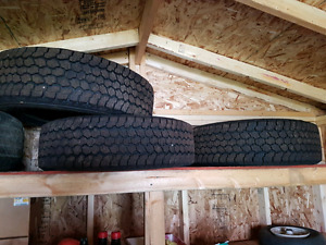 Brand new 4 10 ply LT 245 R17 tires