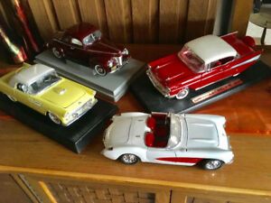 Die Cast Cars 1:18 - Corvette, Bel Air, Thunderbird etc.
