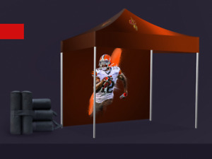 Custom Printed Tents, table covers, flags, stand up banners etc