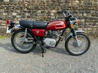 Honda CL175 Twin 1972 Classic Urban Scrambler UK Registered Runs Rides Well
