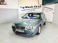 VOLVO S80 D5 SE DIESEL AUTOMATIC, 2005 PLATE, 12 MONTHS MOT, TOP SPEC, GREAT CAR.