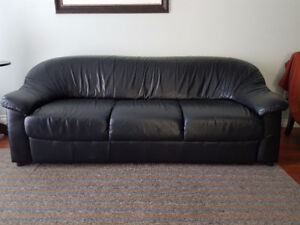 Real Genuine Leather Couch