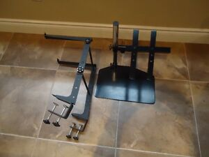 Dj laptop & controller stands – Like New