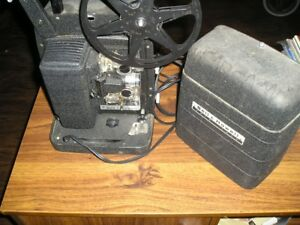 Vintage Bell & Howell Auto Load 8mm film movie projector