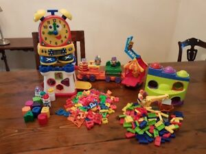 Lots of preschool Toys, great for Daycare or Home Care