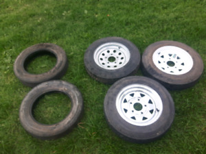 5.30 12 4.80 12 trailer tires and rims