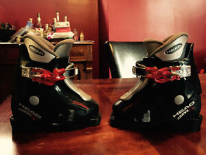 Head Carve Kids Boots Size 8