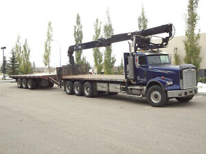 2006 Freightliner with 25' Trailer & HIAB Crane COMBO