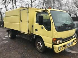 ISUZU NPR 70 TREE TIPPER WOODCHIPPER White Manual Diesel, 2004
