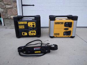 Champion 2000 watt Inverter Generators with Parallel Kit