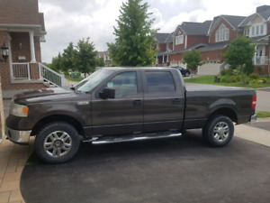 2007 Ford f150 XLT Supercrew 4x4 6 passenger - SAFTIED 6.5 Box