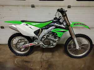 2006 - KX450F One owner, got married, had kids, rode about 60hrs