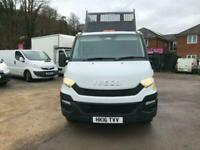 2016 Iveco Daily 35C13 D CAB TIPPER,WITH TAIL LIFT Dropside / Tipper Diesel Manu