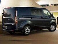 Crew Cab, with driver available for hire.