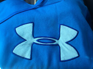Baby blue under armour sweater