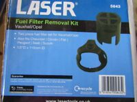 Fiat Ducato Fuel filter tool and filter