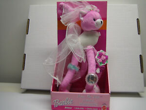 "Barbie Pose-Me Pets ""Blissa"" - Bride Kitty"