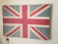 Large Union Jack canvas
