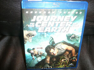 JOURNEY TO THE CENTER OF THE EARTH BLURAY MOVIE BLU-RAY BLU RAY