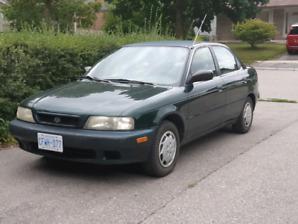 Rare pre facelift Suzuki esteem 1998