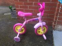 Peppa pig balance big with stabilisers