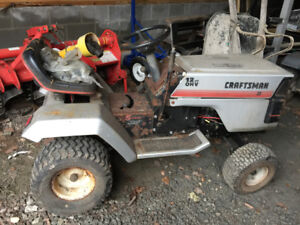 2 Lawn tractors for parts