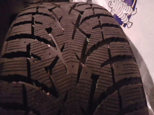 LIKE NEW 235 60 17 TOYO WINTER TIRES