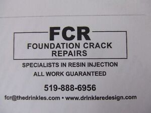 FOUNDATION CRACK REPAIRS