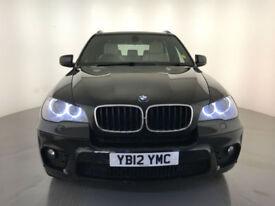 2012 BMW X5 XDRIVE30D M SPORT AUTOMATIC DIESEL SERVICE HISTORY FINANCE PX