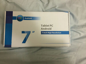 TABLET PC ANDROID!! 7inch