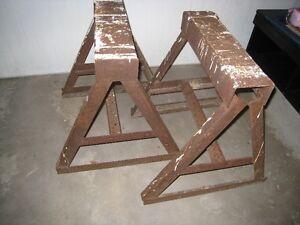Steel Saw Horses