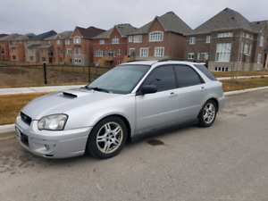 2004 Subaru WRX Wagon - Manual Transmission