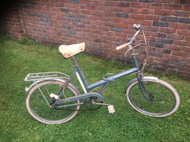 Raleigh Stowaway Folding Bike In Verwood Dorset Gumtree