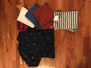 Lot of Six Kid's Long Sleeve Tees - New Condition