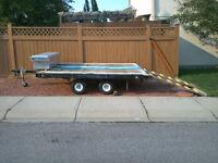 ATV/Snowmobile/Utility Trailer – 8'x10' Deck