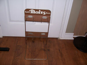 Rare Antique Moirs Candy Rack 20 tall and 11 wide