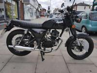 Bullit Hunt S 125 Motorcycle Just Registered As Only 114 Miles Save Over £400